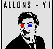 Doctor Who - Allons- y Tenth Doctor by vivipeeta