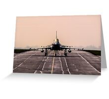 Royal Air Force Typhoon Greeting Card