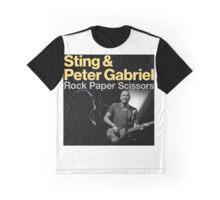 Sting & Peter Gabriel TOUR 2016 6 Graphic T-Shirt