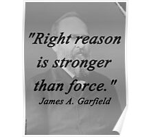 Garfield - Right Reason Poster