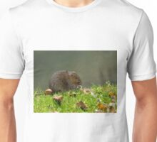 Water Vole Eating Unisex T-Shirt