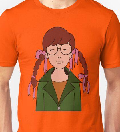 Daria Hair Braids Unisex T-Shirt
