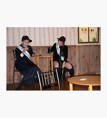 Welcome To Sadie's Saloon II Photographic Print