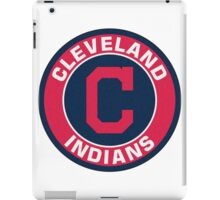 Cleveland Indians LOGO TEAM iPad Case/Skin