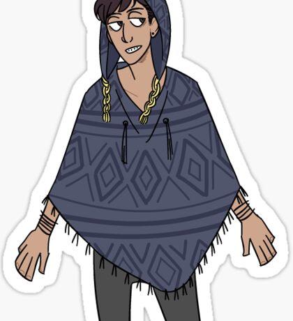 Peruvian Craig. Sticker