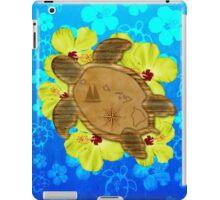 Honu Hawaiian Nautical Map iPad Case/Skin