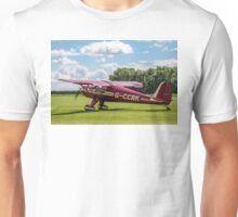 Luscombe Model 8A Silvaire G-CCRK Unisex T-Shirt