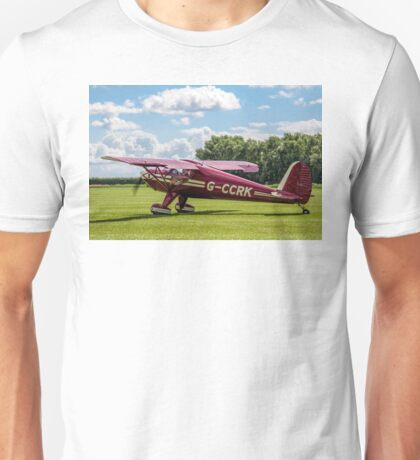 Luscombe Model 8A Silvaire G-CCRK Unisex T-Shirt