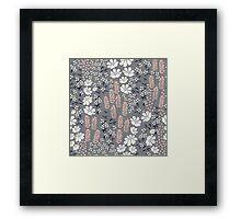 Flower Garden 011 Framed Print