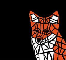 Fox Tile Design by Dan-Summersgill