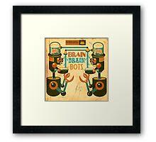 Braindrain Framed Print
