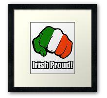 Irish Proud Framed Print