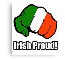 Irish Proud Canvas Print