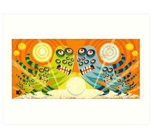 Lotso Eyes Art Print