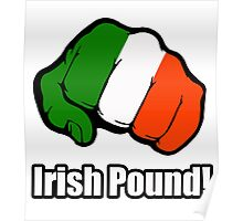 Irish Pound Poster