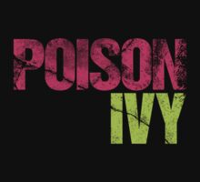 Discreetly Greek - Poison Ivy by integralapparel
