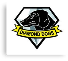 Diamond Dogs Canvas Print