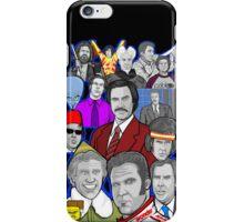 Will Ferrell collage art tribute iPhone Case/Skin