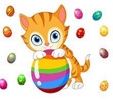 Easter cat by NJharris