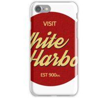 Visit White Harbor iPhone Case/Skin