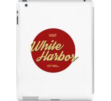 Visit White Harbor iPad Case/Skin