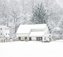 Wintry Homestead  by KellyHeaton