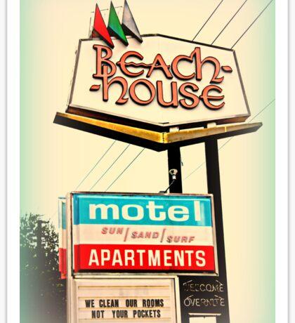 Beach House Sticker