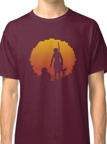 BB-8 & Rey : Jakku Sunset Classic T-Shirt
