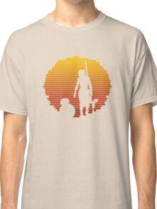 BB-8 & Rey : Jakku Sunset Classic T-Shirt