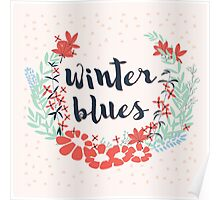 Winter Blues 002 Poster