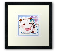 Jinx and Poro  Framed Print
