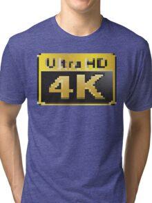 4K Ultra HD Tri-blend T-Shirt