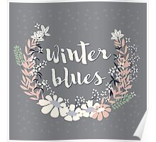 Winter Blues 003 Poster