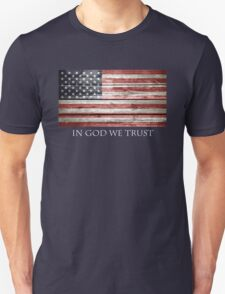 In God We Trust American Flag T-Shirt