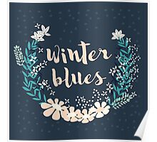 Winter Blues 004 Poster