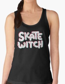 Skate Witch (pink and turq) T-Shirt