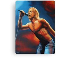 Iggy Pop Painting Canvas Print