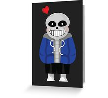 Sans (Undertale) Greeting Card