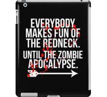 Redneck Apocalypse iPad Case/Skin