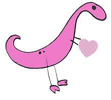 Dino Love by JurassicArt