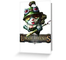 League of Legends - Teemo Greeting Card