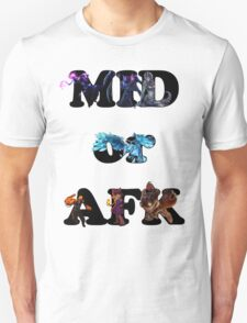 League of Legends - mid or afk T-Shirt