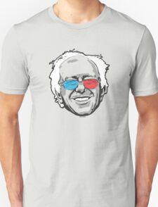 Bernie Sanders Pop Portrait 3D Glasses T-Shirt
