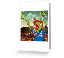 Kermit the Party Frog Greeting Card