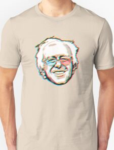 Bernie Sanders Portrait 3D Glasses 2016   T-Shirt