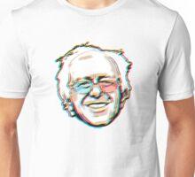 Bernie Sanders Portrait 3D Glasses 2016   Unisex T-Shirt