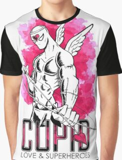 Cupid: love and superheroes Graphic T-Shirt