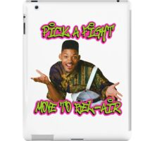 Pick a fight move to Bel-Air iPad Case/Skin