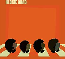 Hedgie road by mangulica