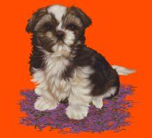 Cute Little Dog Kids Tee